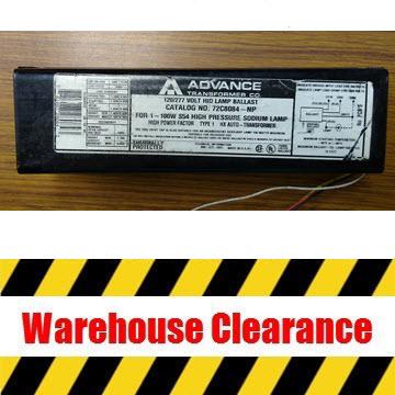 Advance 72C8084-NP HPS Ballast Thumbnail