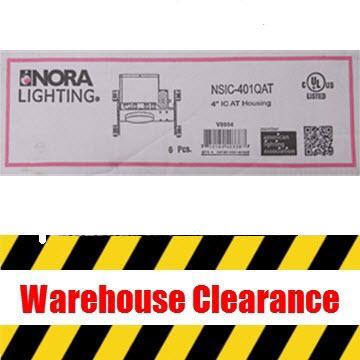 Nora NSIC-401QAT 4″ Can Housing Thumbnail