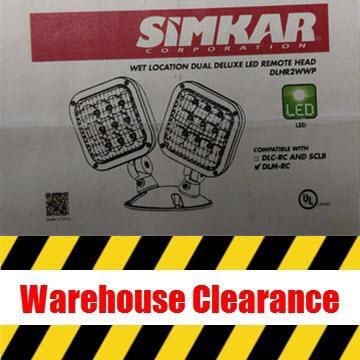 Simkar DLHR2W-WP LED Remote Head Thumbnail