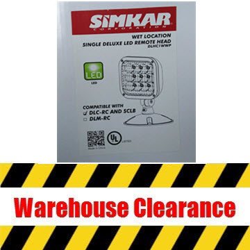 Simkar DLHC1W-WP LED Remote Head Thumbnail