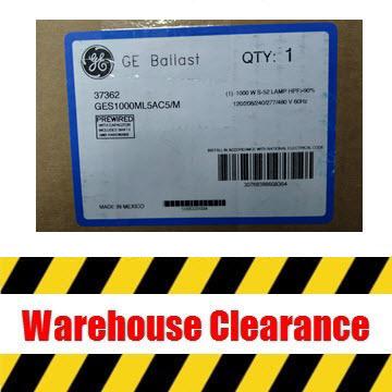 GE 1000W HPS 5-tap Ballast Thumbnail