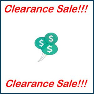 Clearance Sale Thumbnail