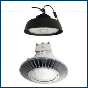 LED Round High-Bay Fixtures