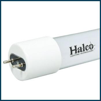 Halco LED T8 Medium Bi-Pin Type A Tube