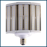 Expandable LED Corncob Area Light Retrofit Lamp