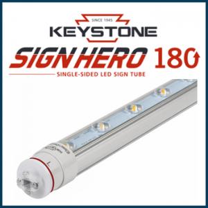 Sign Hero 180 Degree LED Single Side