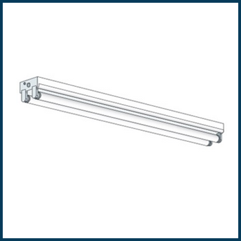 Howard 4-Foot 2-Lamp T8 Strip Fixture Thumbnail