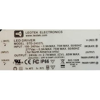 Leotek STD-24027L LED Driver Thumbnail