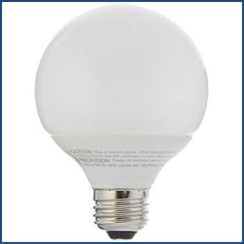 DLU FLSYB230V CFL G25 Globe Lamp Thumbnail