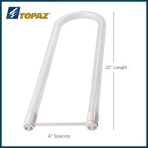 Topaz LED Ballast Bypass U-Bends