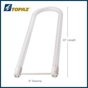 Topaz LED Ballast Bypass U-Bends