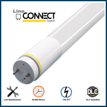 LED Linear T8 Frosted Medium Bi-Pin Ballast Bypass Tube